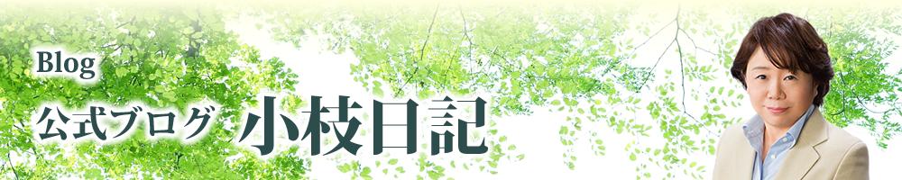 近藤 さえ子 公式ブログ 小枝日記
